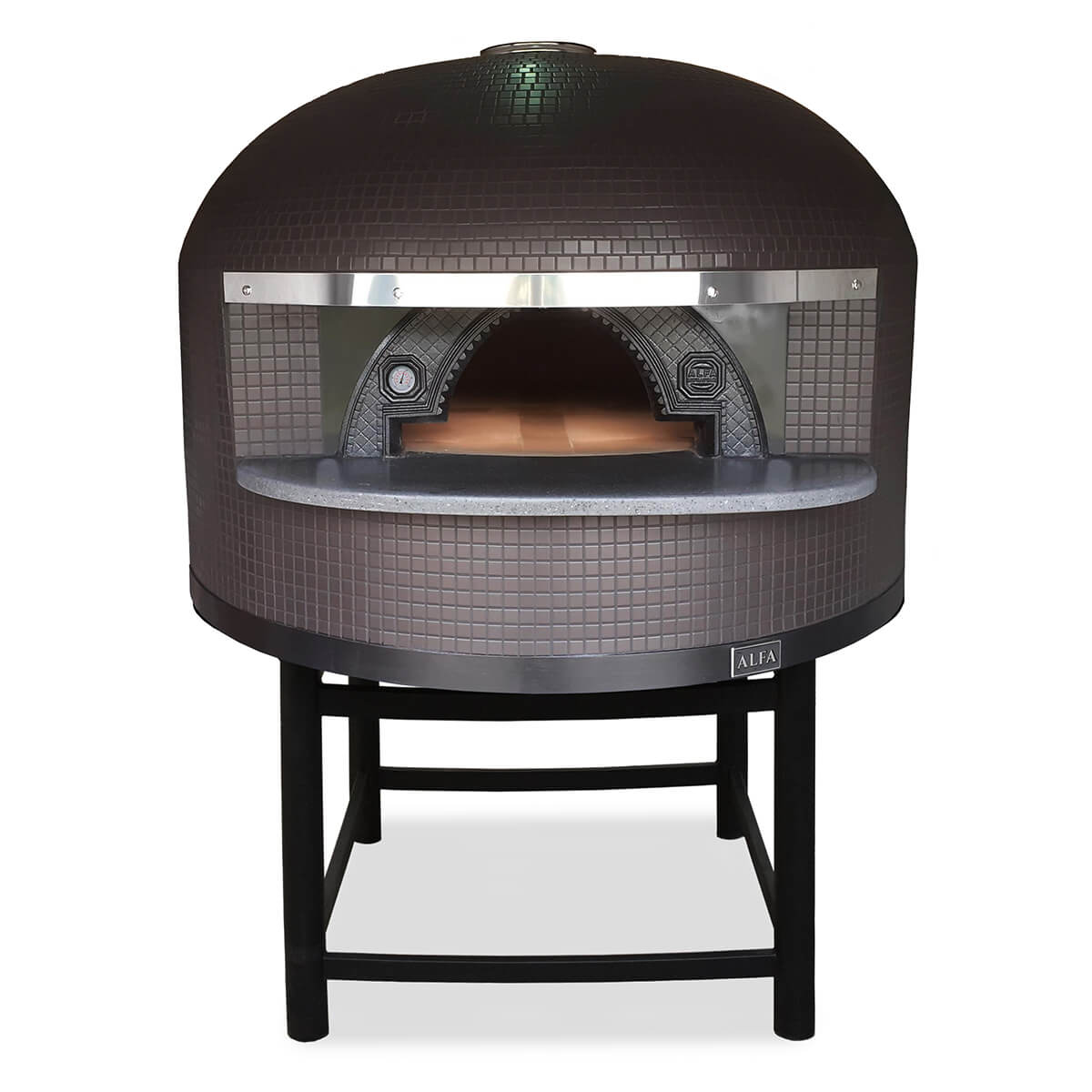 napoli-commercial-refractory-pizza-oven-brown