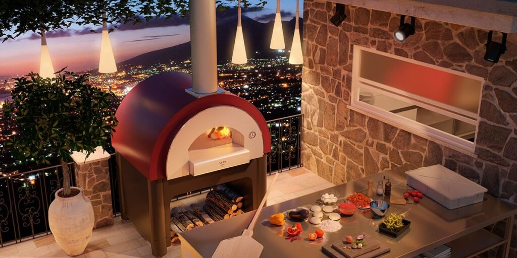 wood fire pizza oven by fornieri
