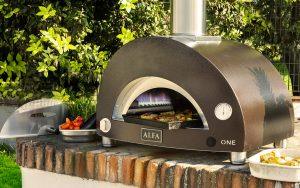 Alfa On gas fired pizza oven